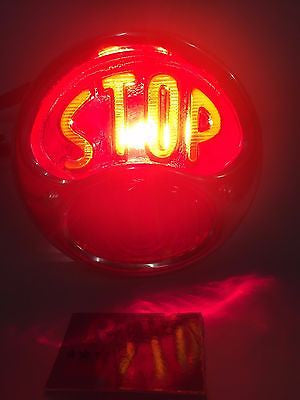 Image of Model A Tail Light - Ford Duolamp Stop Light - Original Style 1928-1931 - Stop Light