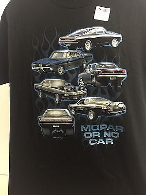 Mopar or No Car T-Shirt - Live Fast Supply Company