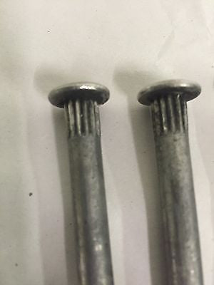 "Stainless Steel Door Hinge Pins - 2.75"" 1932-52 Ford - Close Up"