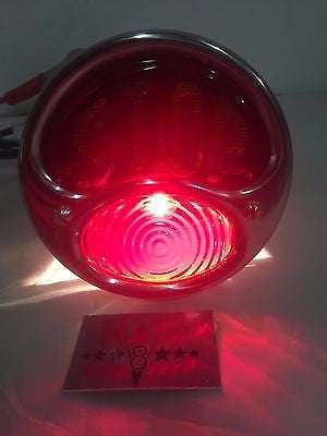 Image of Model A Tail Light - Ford Duolamp Stop Light - Original Style 1928-1931 - Bottom Light
