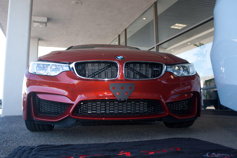 Image of Removable Front License Plate Holder Bracket BMW M4/M3/M2