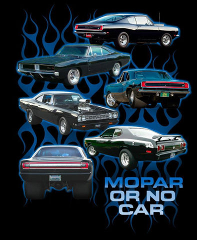 Mopar or No Car T-Shirt (logo) - Live Fast Supply Company