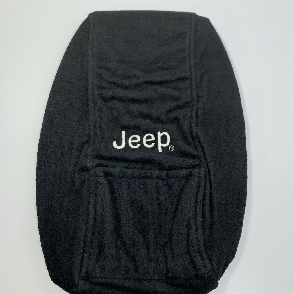 Jeep Grand Cherokee Armrest Console Cover Pad - Black for 2011-2018