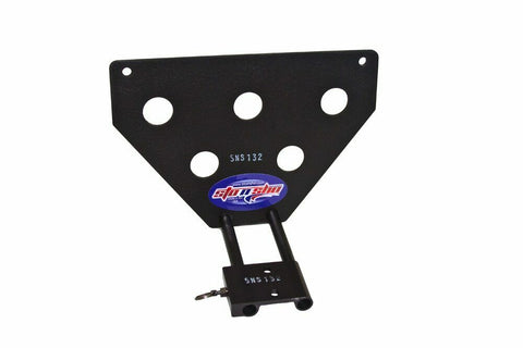 Sto N Sho License Plate Bracket for 2012 Jaguar XK Coupe (Removable / Metal)  - 3
