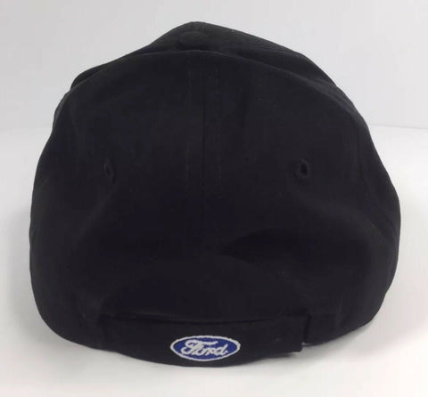Ford Mustang Hat - Black w/ Gray 5.0 GT - Back