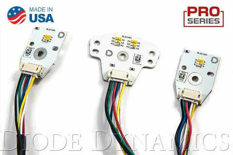 Pair LED Boards for 2015-2018 Dodge Charger - Multi Color w/ Bluetooth Control - 2
