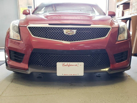 Image of Sto N Sho License Plate Bracket For 2016-19 Cadillac ATS - V w/ Front Spoiler