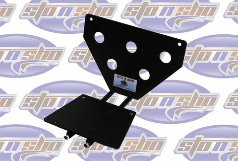 Sto N Sho License Plate Bracket for 1993-2003 Ford Lightning (Removable / Metal) - 2