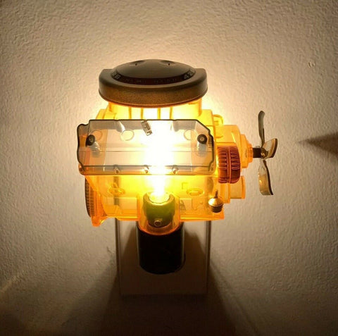 Dodge Night Light - Chrysler Hemi 426 Engine Replica Plug In - 2