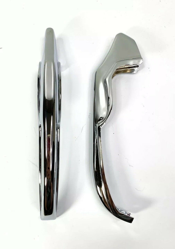 Chrome Rear Bumper Guards For 1965 Chevrolet Impala, Bel Air & Biscayne
