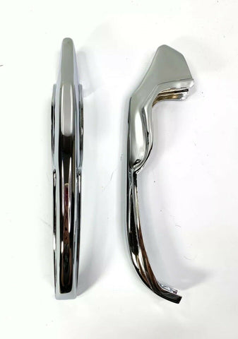 Image of Chrome Rear Bumper Guards For 1965 Chevrolet Impala, Bel Air & Biscayne