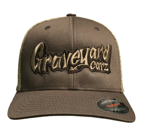 Graveyard Carz Hat - Flex Fit w/ Faux Mesh Back - Main