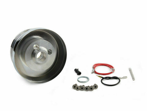 Image of Polished 5/6 Hole Hub Adapter For Dodge, Plymouth, Chrysler-Live Fast Supply Company