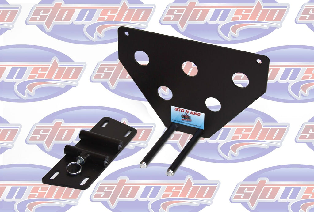 Sto N Sho License Plate Bracket for 2012-2016 Mitsubishi Lancer / Lancer GT - 3