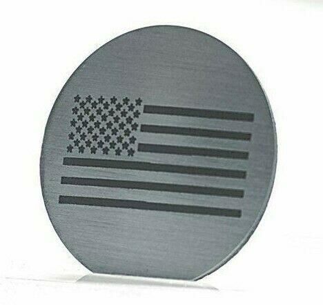 Image of US American Flag Dial Shift Knob Trim For 2015+ Dodge Vehicles - 2
