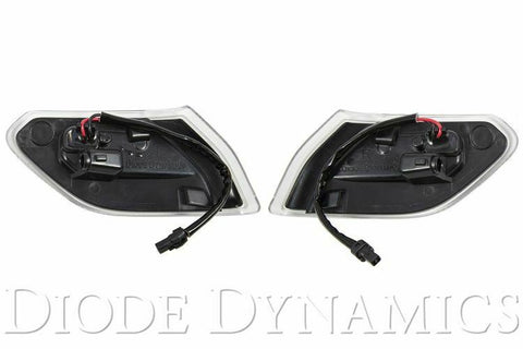 2018-2019 Jeep Wrangler & 2020 Gladiator LED Clear Lens Turn Signals - 2