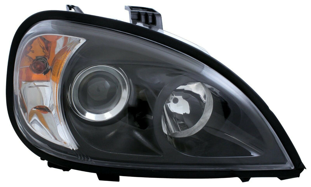 Pair of Blackout Projection Headlights for 1996-2018 Freightliner Columbia - 2