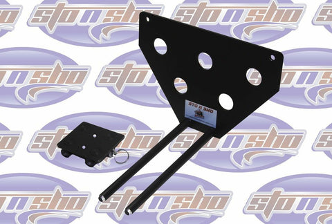 Image of Sto N Sho License Plate Bracket for 2017 Dodge Ram Sport Truck (Removable) - 3