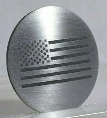 Image of US American Flag Dial Shift Knob Trim For 2015+ Dodge Vehicles - 1