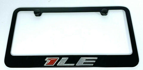 Chevy Camaro 1LE License Plate Frame - Black