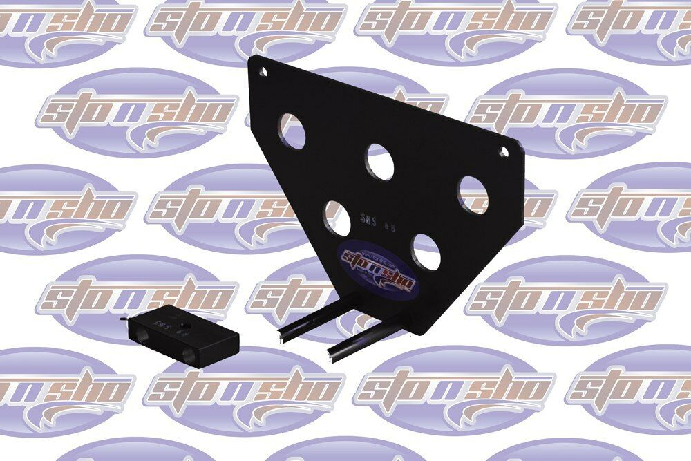 Sto N Sho License Plate Bracket for 2014-2017 Dodge Durango SXT / RT / GT - 3