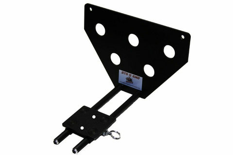 Image of Sto N Sho License Plate Bracket for 2018-19 Jeep Grand Cherokee Altitude/Summit - 2