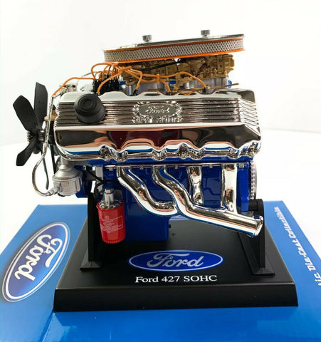 Ford 427 SOHC Model Engine - Diecast 1:6 Scale Motor Replica - 4