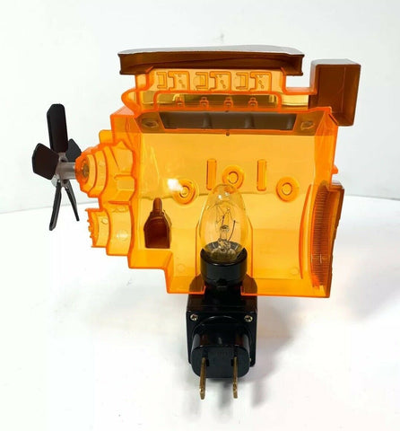 Chevy Night Light - Orange Corvette Big Block 427 Engine Replica - 7
