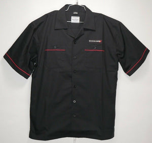 Mechanic Style Button Up Shirt w/ Dodge Emblem / Logo (Licensed)