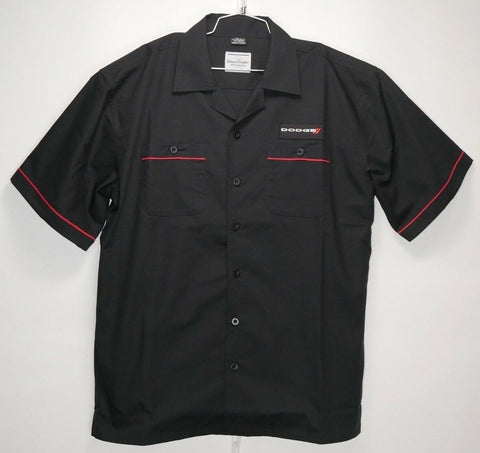 Image of Mechanic Style Button Up Shirt w/ Dodge Emblem / Logo (Licensed)