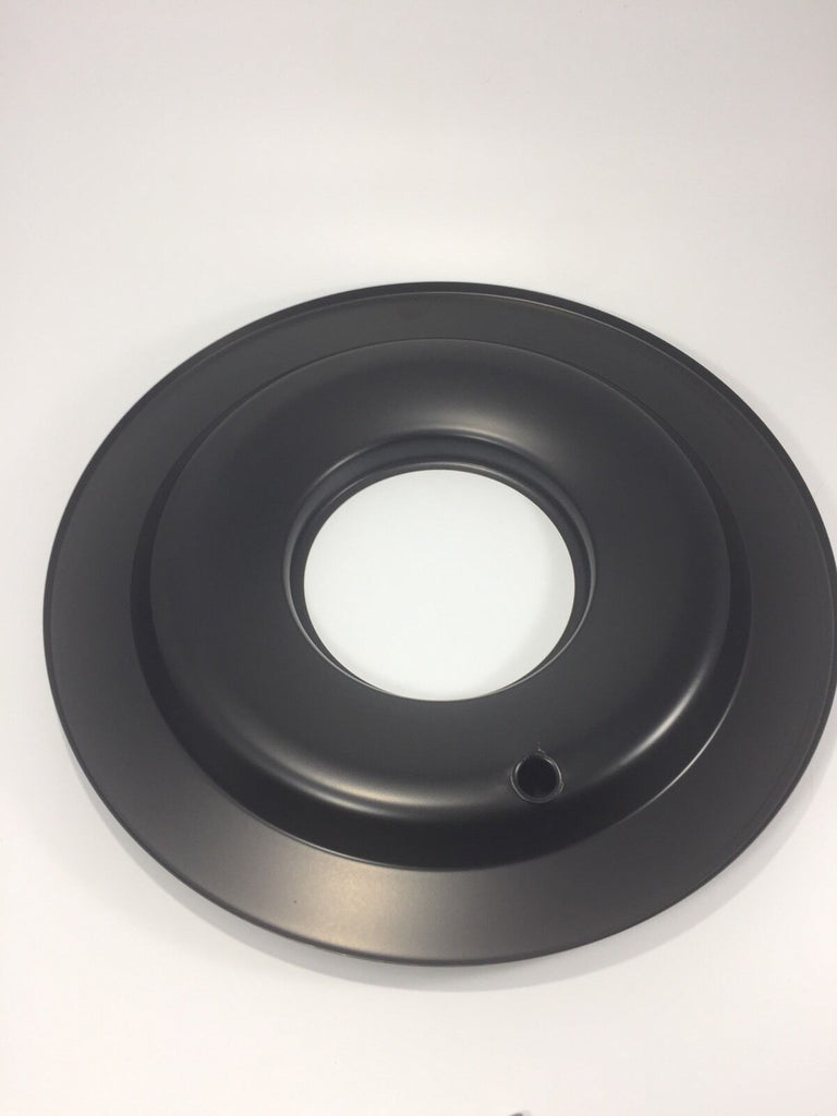 Black Air Cleaner Assembly 14'' X 3'' (Round, Fits 5-1/8'' Carburetors) - 3