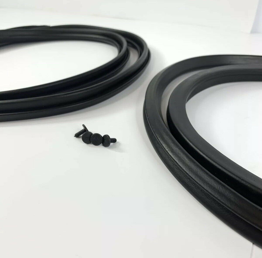Pair Door Weatherstrip Seals For 1965-1966 Ford Mustang-Live Fast Supply Company