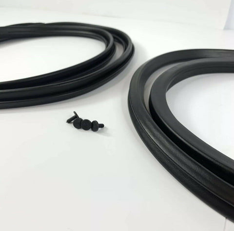 Image of Pair Door Weatherstrip Seals For 1965-1966 Ford Mustang-Live Fast Supply Company
