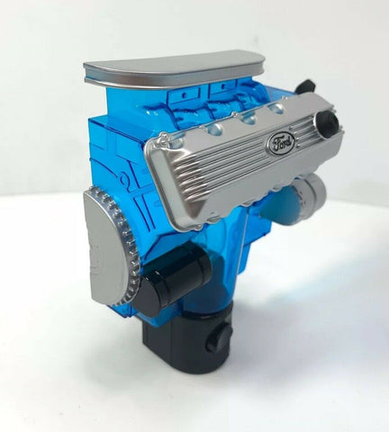 Ford Night Light - Blue w/ Gray & Black 427 SOHC Cammer Engine Replica - 5