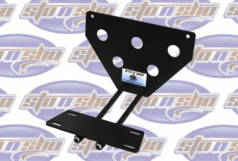 Sto N Sho License Plate Bracket for 1987-1993 Ford Mustang LX (Removable / Metal) - 4