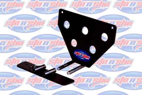 Sto N Sho License Plate Bracket for 2015-2018 Dodge Charger Hellcat (Removable) - 9