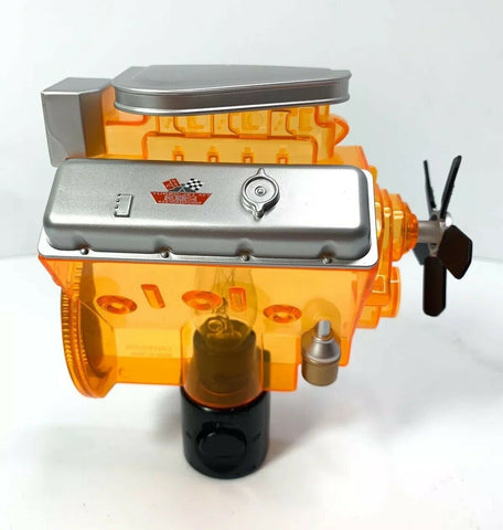 Chevy Night Light - Orange Corvette Big Block 427 Engine Replica - 4