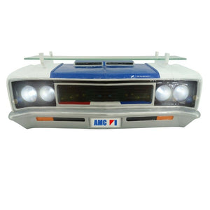 1970 AMC Rebel Machine Wall Shelf w/ Working LED Headlights-Live Fast Supply Company