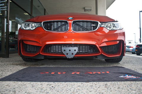 Image of Sto N Sho License Plate Bracket for 2015-2018 BMW M3 M4 RS (Removable)
