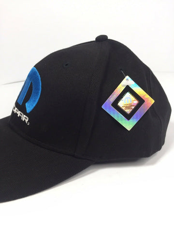 "Image of Mopar Hat / Cap - Black W/ Blue ""M"" Logo / Emblem (Licensed) - 2"