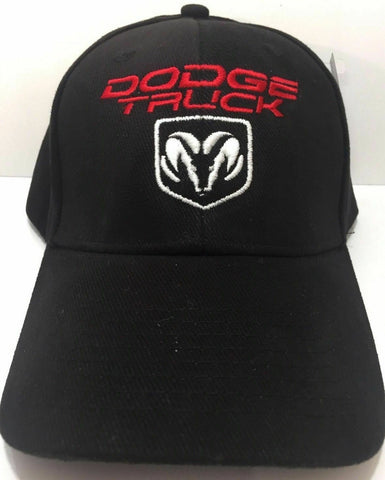 Dodge Truck Hat - Black w/ Ram Truck Emblem - Main