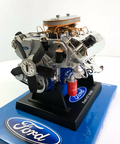 Ford 427 SOHC Model Engine - Diecast 1:6 Scale Motor Replica - 5