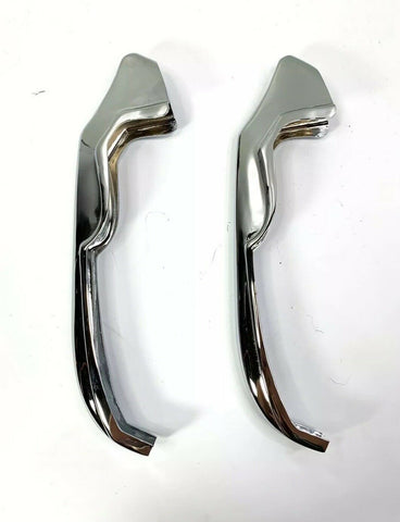 Image of Chrome Rear Bumper Guards For 1965 Chevrolet Impala, Bel Air & Biscayne - 1