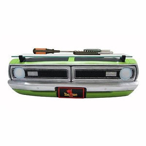 1970 Dodge Demon Wall Shelf - Lime Green Front End w/ Glass - Main