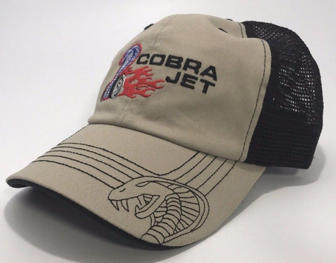 Ford Shelby Mustang Cobra Jet Hat - Trucker Style - R&W Speed Shop