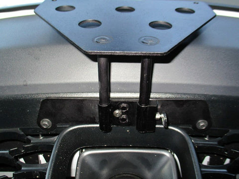 Removable, No Drill License Plate Bracket for 2019 Dodge Charger - Installed 1