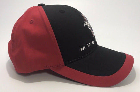 Classic Ford Mustang Hat with Tri Bar Pony Logo (Right)