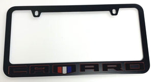Chevrolet Camaro License Plate Frame - Black (Main)