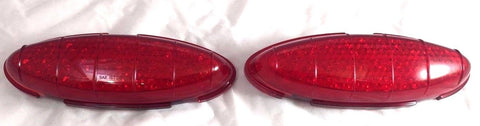 Pair of 1949-1950 Ford LED Tail Light Inserts - Main