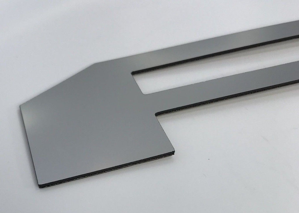 2018-2019 Ford F150 Tailgate Letter Inserts - Chrome - Front